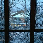 Bedroom Window Christmas 2012