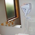 A hair dryer in a bathroom is a must!!