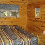                    One of the sleeping areas.  Cabin #6