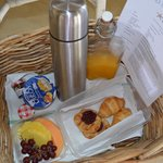 Breakfast Basket Left On Porch Every Morning