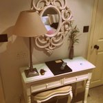 The dressing table