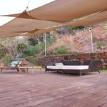                    Terraza sobre sala de masaje