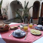                    La colazione al riad