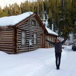                                      Me Outside The Mcgill Cabin