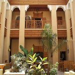 Riad Al Ksar Marrakech - the beautifill patio