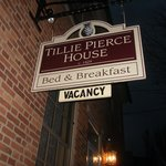                    Tillie Pierce sign
