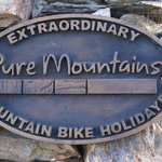  Pure Mountains sign
