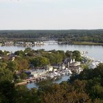  We&#39;re located in the heart of downtown Saugatuck, steps away from everything.