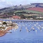 Shaldon Village and Teign Estuary