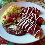                    Chicken Enchilada at Latin Fiesta