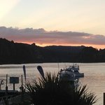 Sunset at Kingfish Lodge