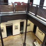                    Inside first floor
