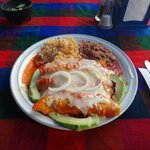 Mmmmm - genuine Mexican food
