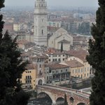 Part of the view from Piazzale Castel San Pietro