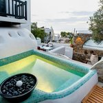 JACUZZI FROM A SUITE