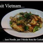 Issei Noodle 3 blocks from the Carlisle House