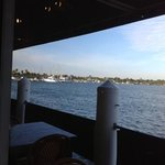 view from dinning room of intercoastal waterway