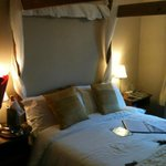                    Room was nice, warm, and cosy!