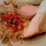 Fish Tacos with crazy good amazing rice
