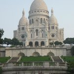                                      Nearby Sacre Coeur (short walk up the hill)