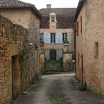                    View of Le Prieure from side street