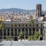                    view of plaza reial