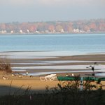 the magnificent autum view of Traverse Bay, Traverse City Michigan from your room