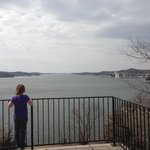                                      Views of Lake Ozark from Willmore Lodge outlook
