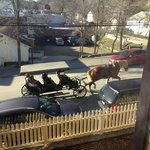                    Quaint carriage rides are available in Julian