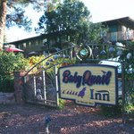  Front sign for the Baby Quail Inn