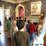 Students from Peabody School excitedly participate in a tour