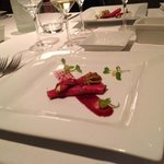                    Amazing beef carpaccio