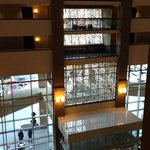 Atrium and Lobby view