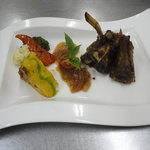 Ginger crusted rack of lamb Lamb