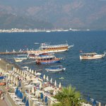                    View looking towards Marmaris, so much to see!