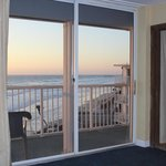                    Ocean view from the bed!