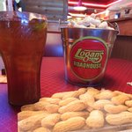 Roasted Peanuts & Iced Tea.