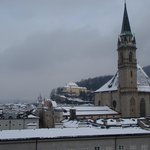                    Snowy Salzburg