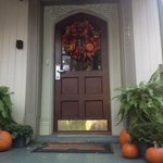  Front Porch Entrance in October