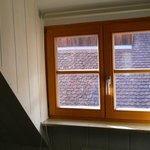 Great German style window in quad room