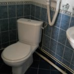 Toilet in quad room