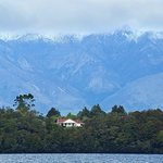                    Grand View House from Lake Manapouri