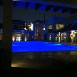 """Pool & SPA side, can´t be better during the night"""