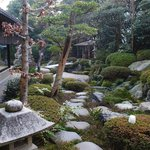 The garden (voted 9th best in Japan!)