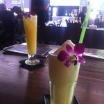                    pineapple shake to bit the hangover at pirate house