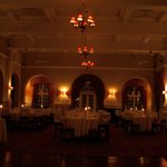 The Livingstone Room Victoria Falls Hotel.