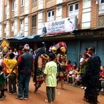                    Celebrations in the street during Gay Jatra