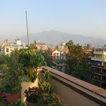                                     roof garden of Thamel Hotel