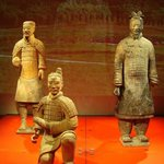  drie terracotta soldaten