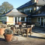                   Etchinghill Golf Patio Area